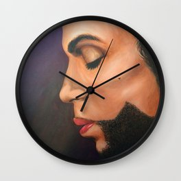 Prince Wall Clock