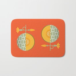 Fruit: Cantaloupe Bath Mat