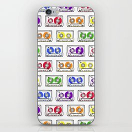 Rainbow Cassette Tapes iPhone Skin
