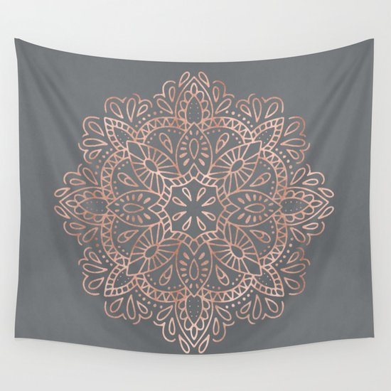 Pink Wall Tapestry floral wall tapestries | society6