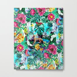 Tropical Jungle II Metal Print