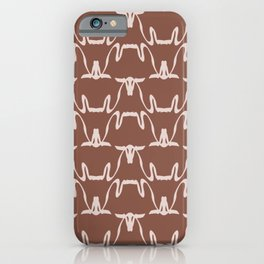 Abstract Cows Pattern iPhone Case