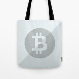 Bitcoin Silver Coin Tote Bag