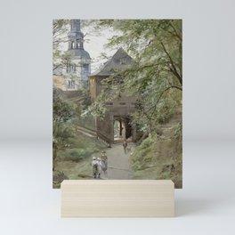 Mulln Monastery in Augustiner Braustubl (Salzburg) by Edward Theodore Compton Mini Art Print