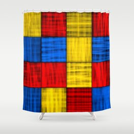 Finding The Intersections Shower Curtain