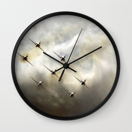 Hot steel Wall Clock