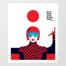 Stylish Journey - Japan Art Print