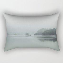Fog - Landscape Photography Rectangular Pillow