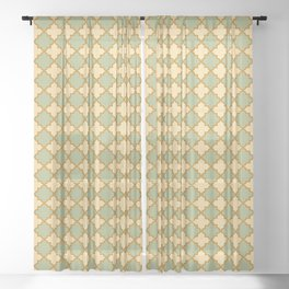 Tranquil Trail Sheer Curtain