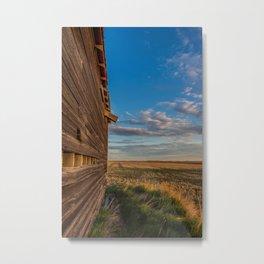 Grain Elevator 12 Metal Print