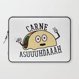 Carne Asuuuhdaaah Laptop Sleeve
