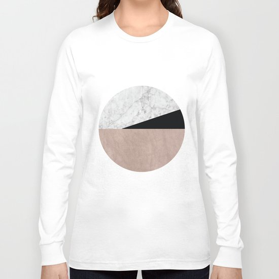 Minimalist Geometric 2 Long Sleeve T-shirt
