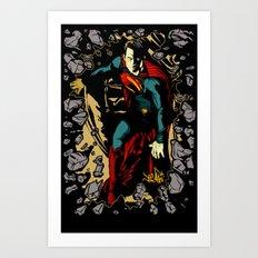 Super Steel 2 Art Print