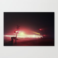 The Ghost of Rapid Transit Canvas Print