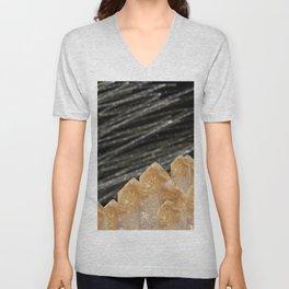Mountains of citrine Unisex V-Neck