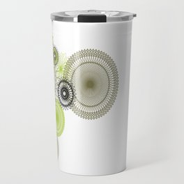 Modern Spiro Art #1 Travel Mug