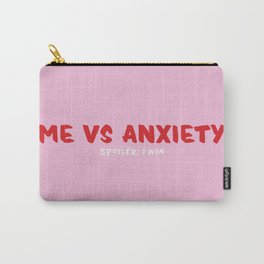 Me VS Anxiety Carry-All Pouch