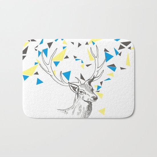 Rainbow Collection / deer Bath Mat