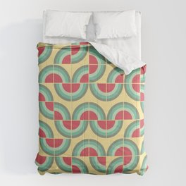 Mid-century modern pattern 2 Comforters