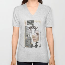 """""""Black Flags and Chandeliars"""" by Winn Smith  Unisex V-Neck"""