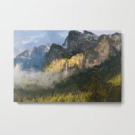 Bridalveil Fall ~ Yosemite National Park  Metal Print