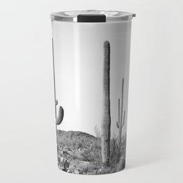 Grey Cactus Land Travel Mug