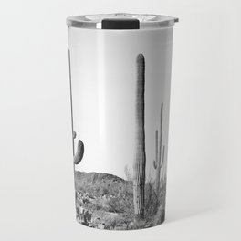 Grey Cactus Land Travel Mug