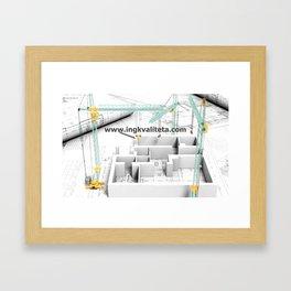 ingkvaliteta Framed Art Print