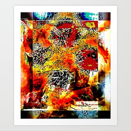 D5ml7l Art Print