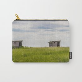 Outhouses at Christiania Township School, North Dakota 3 Carry-All Pouch