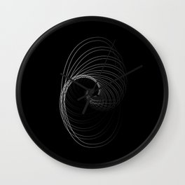 """Fly Collection"" - Abstract Minimal Letter G Print Wall Clock"