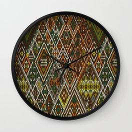 Abstract aztec pattern Wall Clock
