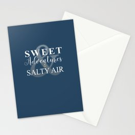 Sweet Adventures & Salty Air Stationery Cards