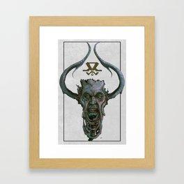 Ice King Framed Art Print