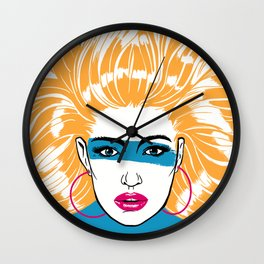 Summer Blonde '82 Wall Clock