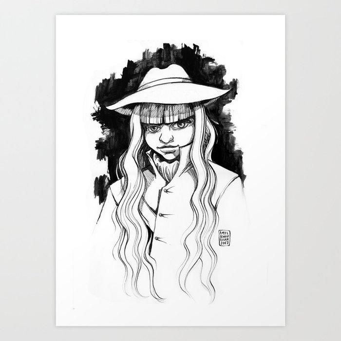 Bad Assery Art Print