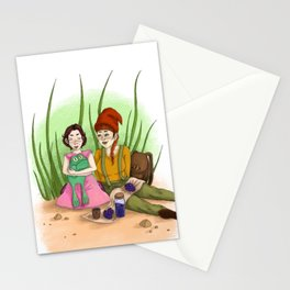 Gnome Life Stationery Cards