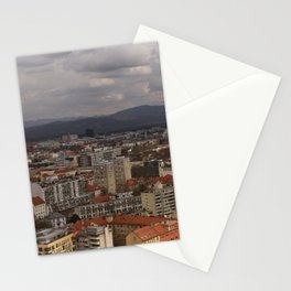 Over The Rooftops of Ljubljana Stationery Cards