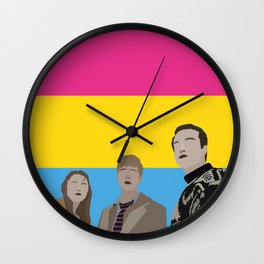 In The Pansexual Flesh Wall Clock