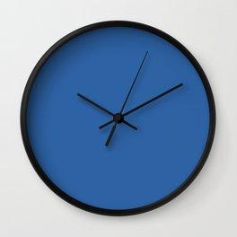 Nebulas Blue Pantone fashion color trend autumn fall 2018 Wall Clock