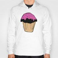 cupcake Hoodies featuring cupcake by Sarah Mould