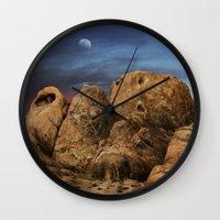 alabama Wall Clocks featuring Alabama Hills. by alex preiss