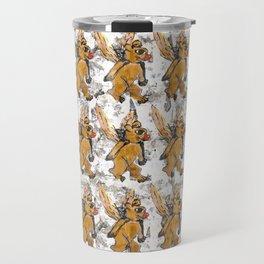 Bees Bears Travel Mug