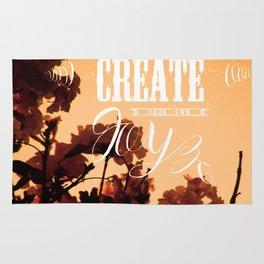 Create your own joy Rug