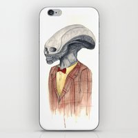 xenomorph iPhone & iPod Skins featuring Xenomorph by Monsters in Plaid