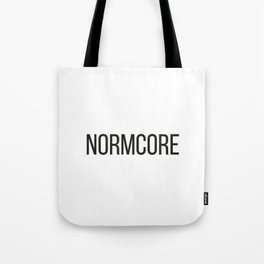 NORMCORE Tote Bag