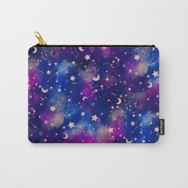 Zodiac - Watercolor Dark Carry-All Pouch