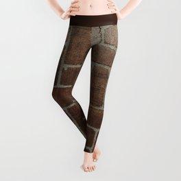 Brick Pattern in Spain Leggings
