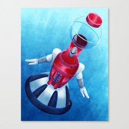 Tom Servo Canvas Print