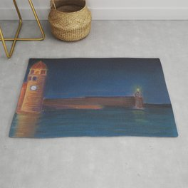 Lighthouse on the Bay Rug